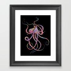 Reverse Drunk Octopus Framed Art Print