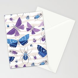 A Colorful Bug invasion Stationery Cards
