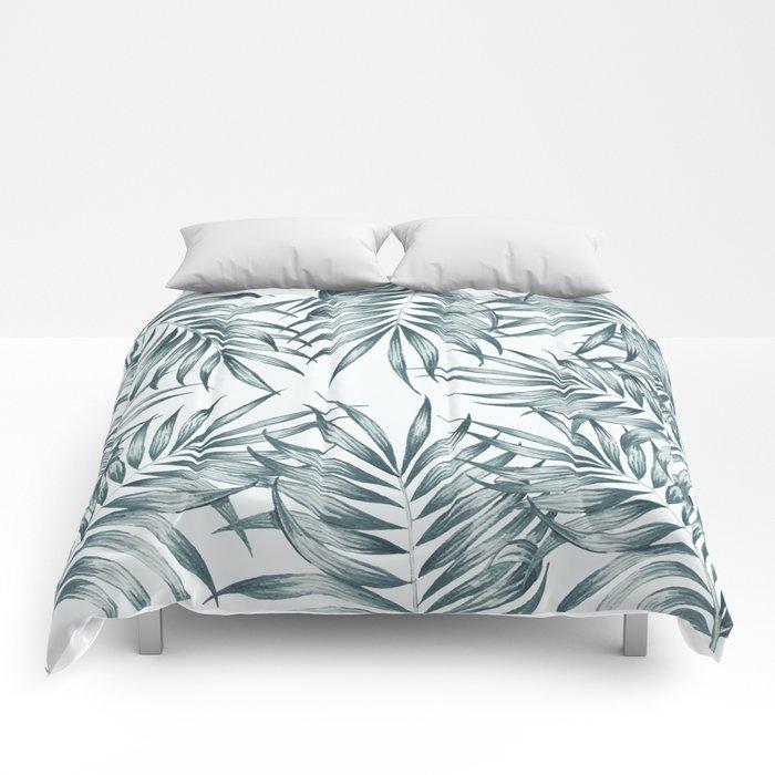 Palm Leaves #society6 #buyart Comforters