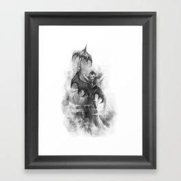 The Vampire Brother Framed Art Print