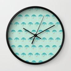 Umbrella Falls Wall Clock