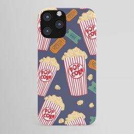 Popcorn and Movie Night iPhone Case