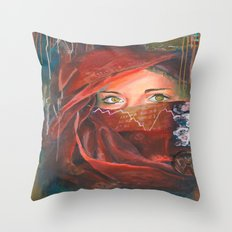Behind the numbers  Throw Pillow
