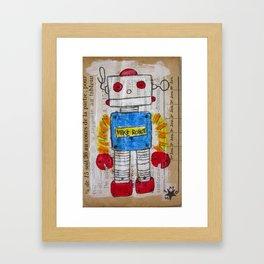 ROBOT 7 Framed Art Print