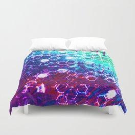 honeycomb effect Duvet Cover