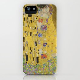 The Kiss (Lovers) by Gustav Klimt iPhone Case