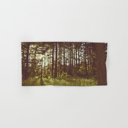 Summer Forest Sunlight - Nature Photography Hand & Bath Towel