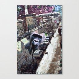 Potsdam Gorilla Canvas Print