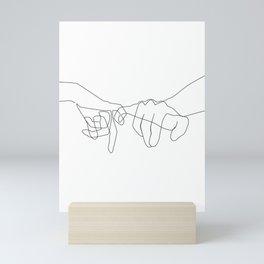 Pinky Swear II Mini Art Print