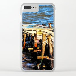 Fisherman's Dock: Dennery Village, Saint. Lucia Clear iPhone Case