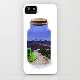 Bottle camping world iPhone Case