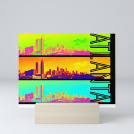 Atlanta colors Mini Art Print