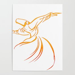 Sema The Dance Of The Whirling Dervish Poster