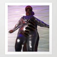 minaj Art Prints featuring Oooo Drag on by Emily Lomax