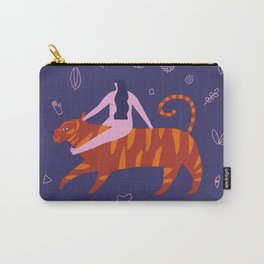 Night safari poster Carry-All Pouch