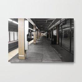 NY underground Metal Print