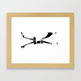 X-Wing 2 Framed Art Print