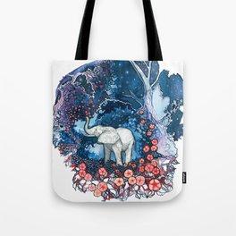 Elephant Totem Tote Bag