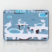 panic at the disco iPad Cases featuring Panic! at the Disco - Candle Swans by Shana Marie