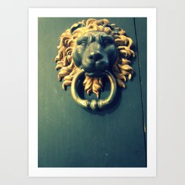 Even if there isn't any Narnia. Art Print