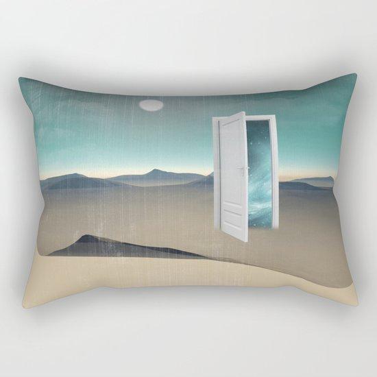 door to a void Rectangular Pillow