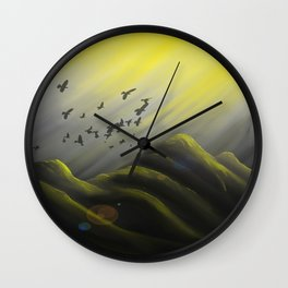 Journey Into Sunlight Wall Clock