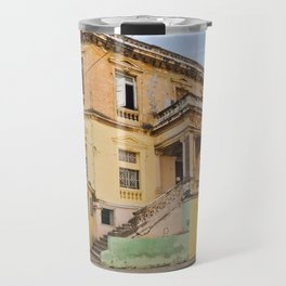 Cuba Funky House Havana Architecture Old Building Cuban Island Urban City Spain Colorful Travel Mug