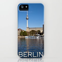 Autumnal Feeling at the River Spree in Berlin iPhone Case