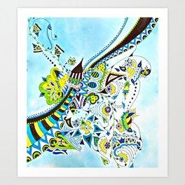 Kristina Art Print