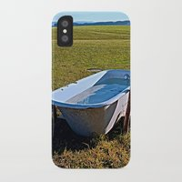 outdoor iPhone & iPod Cases featuring Outdoor pool | conceptual photography by Patrick Jobst