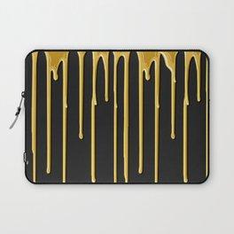 Liquid Gold Drip Laptop Sleeve