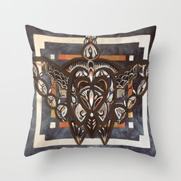 Insect pattern Throw Pillow