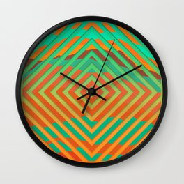 TOPOGRAPHY 2017-021 Wall Clock