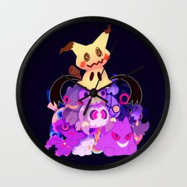 Spooky Dolls Wall Clock