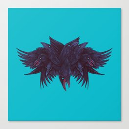 Crowberus Reborn Canvas Print