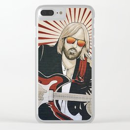 Wildflowers (Tom Petty Tribute Mural, Gainesville) Clear iPhone Case