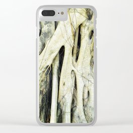 Kowloon Roots Clear iPhone Case
