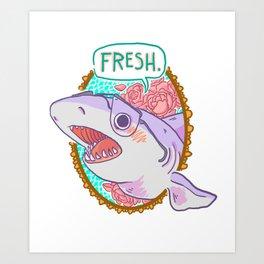 Fresh! Art Print
