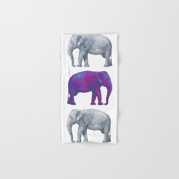 Elephants II Hand & Bath Towel