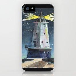 Ludington Light iPhone Case