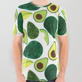 Avocados All Over Graphic Tee
