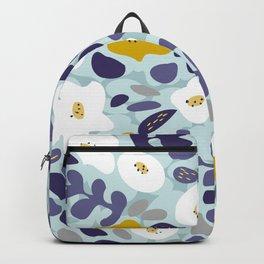 cooldown: blueshade floral pattern Backpack