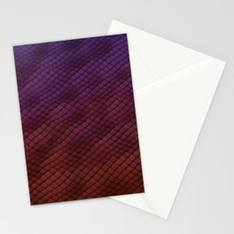 Dragon Scales Pattern Stationery Cards