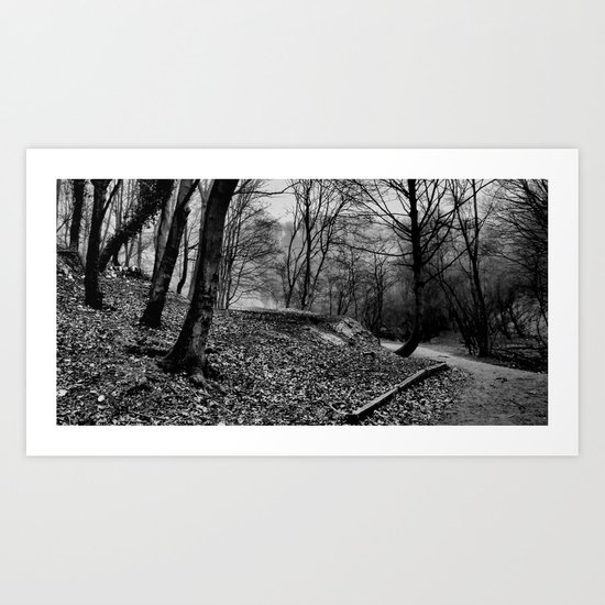 Little Switzerland | B&W Art Print
