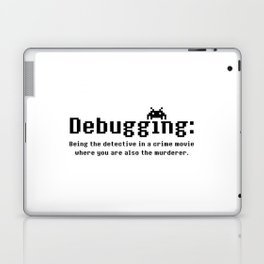 Debugging Definition Laptop & iPad Skin