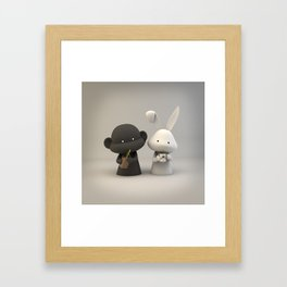 Coffee & Chocolate Milk Framed Art Print