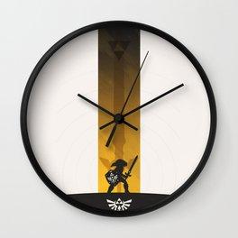 ZELDA - LINK Wall Clock