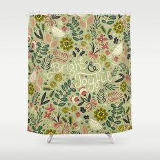 Bright & Joyful Shower Curtain