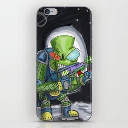 Martian Warlord iPhone Skin