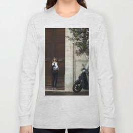 Just open the door Long Sleeve T-shirt